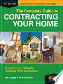The Complete Guide to Contracting Your Home Book PDF