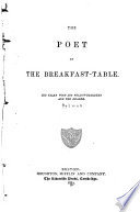 Poet at the Breakfast table