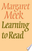 Learning To Read Book PDF