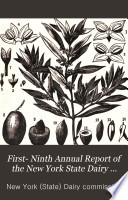 First  Ninth Annual Report of the New York State Dairy Commissioner