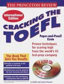 Cracking the TOEFL  99 International Edition