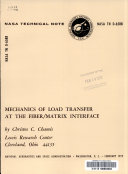 Mechanics of Load Transfer at the Fiber matrix Interface