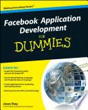Facebook Application Development For Dummies - Jesse Stay - Google Books
