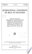 International Conference on Bills of Exchange