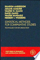 Statistical Methods for Comparative Studies