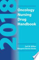 2018 Oncology Nursing Drug Handbook Book