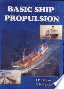 Basic Ship Propulsion