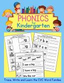 Phonics for Kindergarten Book