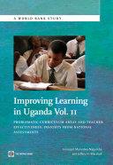 Improving Learning In Uganda  Volume 2