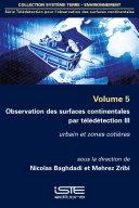 Pdf Observation des surfaces continentales par télédétection III Telecharger