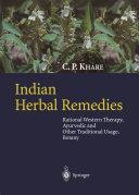 Indian Herbal Remedies [Pdf/ePub] eBook