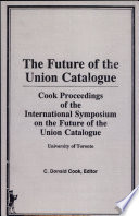 Future of the Union Catalogue