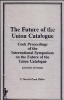 Future of the Union Catalogue