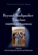 Beyond Backpacker Tourism [Pdf/ePub] eBook