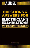 Audel Questions and Answers for Electrician s Examinations