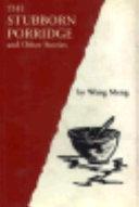 The Stubborn Porridge and Other Stories Book