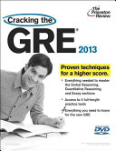 Cracking the GRE 2013