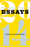 The Best Australian Essays 2014