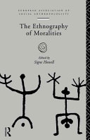 Pdf The Ethnography of Moralities