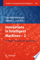 Innovations in Intelligent Machines -2