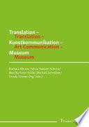 Translation     Kunstkommunikation     Museum   Translation     Art Communication     Museum