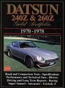 Datsun 240Z and 260Z Gold Portfolio, 1970-1978