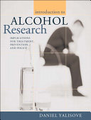 Introduction To Alcohol Research
