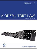 Modern Tort Law 7/e