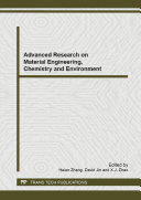 Advanced Research on Material Engineering, Chemistry and Environment [Pdf/ePub] eBook