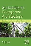Sustainability  Energy and Architecture