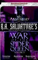 R. A. Salvatore's War of the Spider Queen, Volume II image