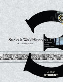 Studies in World History Volume 3  Student