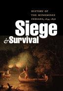 Pdf Siege and Survival