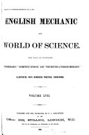Pdf English Mechanics and the World of Science