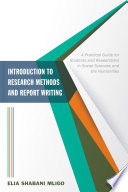 Introduction to Research Methods and Report Writing Book