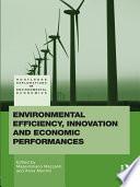 Environmental Efficiency Innovation And Economic Performances Book PDF