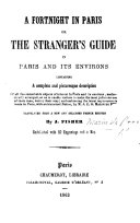 Translated from a new and enlarged French edition, by J. Fisher, etc