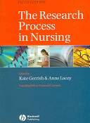 Cover of The Research Process in Nursing