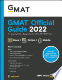 GMAT Official Guide 2022 Book