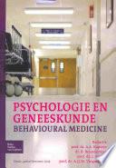 Psychologie En Geneeskunde  Book
