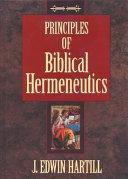 Principles of Biblical Hermeneutics