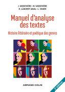 Pdf Manuel d'analyse des textes - 2e éd. Telecharger