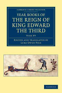 Year Books of the Reign of King Edward the Third ebook