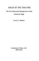 Ideas of the Theatre