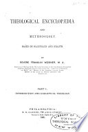 Theological Encyclopaedia And Methodology Based On Hagenbach And Krauth