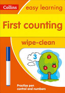 First Counting Age 3 5 Wipe Clean Activity Book  Ideal for Home Learning  Collins Easy Learning Preschool
