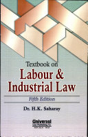 Textbook on Labour   Industrial Law