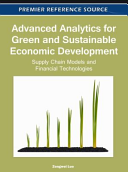 Advanced Analytics for Green and Sustainable Economic Development