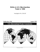 Shifts in U.S. Merchandise Trade 1998, Inv. 332-345 Pdf/ePub eBook
