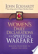 Women S Daily Declarations For Spiritual Warfare Book